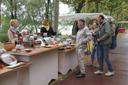 Le stand de la poterie de Lardet