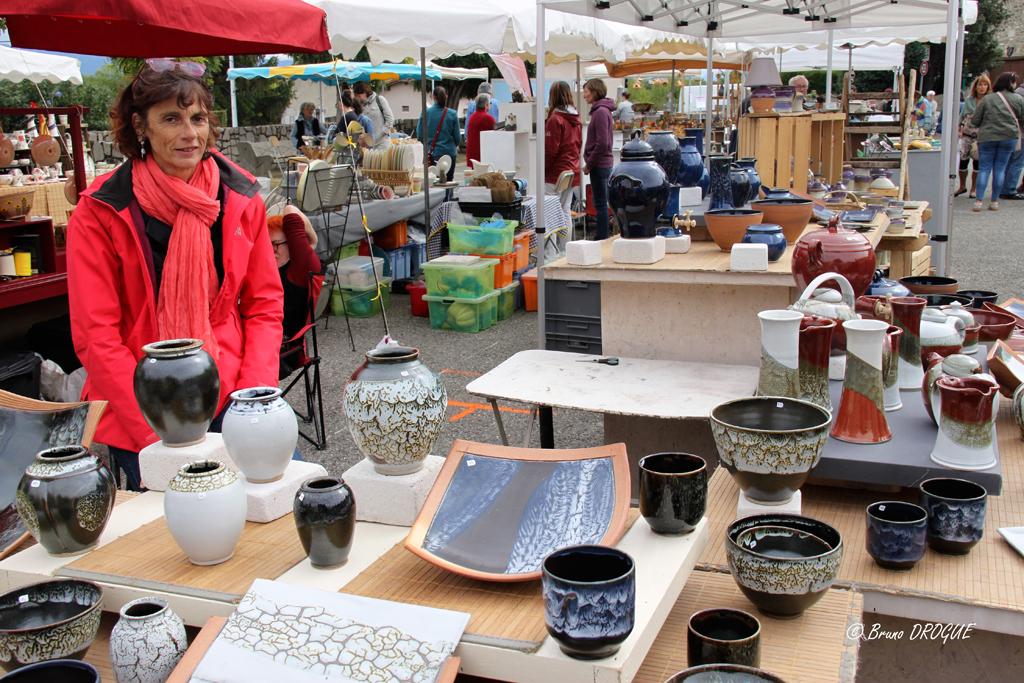 Les photographies du marché de potiers des 16 et 17 septembre 2017
